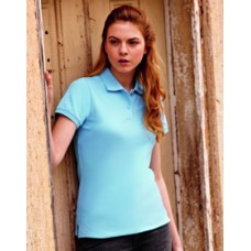 SS88M Lady Fit Polo - Fruit of the Loom